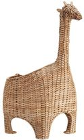 Pottery Barn Kids Giraffe Shaped Wicker Basket natural