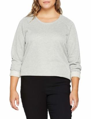 Ulla Popken Women's Lurex Sweatshirt