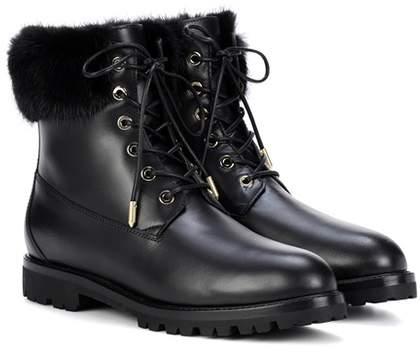 Aquazzura Heilbrunner leather ankle boots