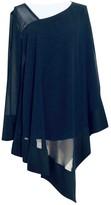 Donna Karan Blue Silk Top for Women