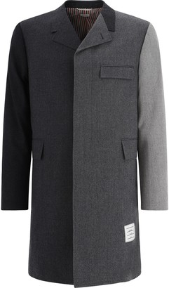 Thom Browne Thome Browne Gradient Chesterfield Coat