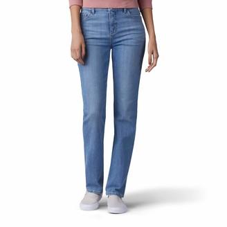 Lee Women's Missy Classic Fit Monroe Straight-Leg Jean