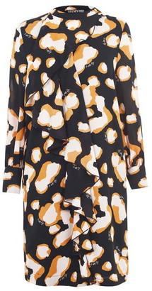 Biba Popper Frill Dress