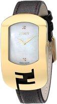 Fendi Women's F300434521D1 Chameleon Analog Display Quartz Brown Watch