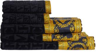 Versace Medusa Head Bath Sheet Set