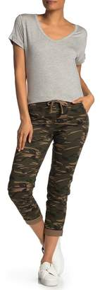 Cotton On Camo Print Utility Rolled Hem Chino Pants