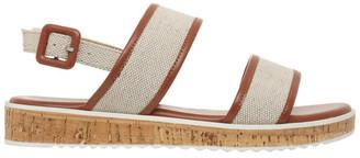 Piper Oahu Natural Linen Sandal