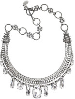 Icon crystal necklace