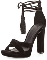 Joie Nadav Velvet Tassel Sandal
