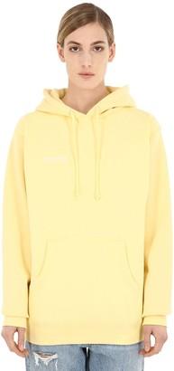 Saintwoods Logo Cotton Sweatshirt Hoodie