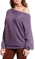 Lauren Ralph Lauren Petite Dolman Cotton-Blend Sweater