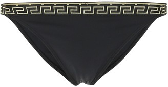 Versace Greca Border Bikini Bottoms