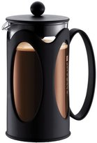 Bodum Kenya French Press Coffee Maker, Borosilicate Glass - 4-Cup (0.5 L), Black