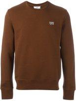 Ami Alexandre Mattiussi embroidered logo sweatshirt
