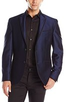 Kenneth Cole New York Men's Two Button Trim Outlined Lapel Dinner Jacket