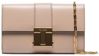 Tom Ford 001 Leather Wallet On Chain