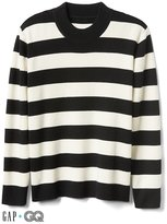 Gap + GQ Ami wool-cashmere stripe sweater