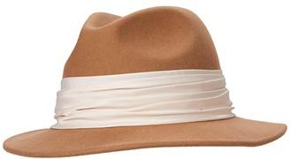 Eugenia Kim Genie by Greta Fedora (Camel) Traditional Hats