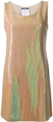 Moschino sequinned mini dress