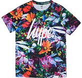 Hype Boys' Summer Leaves Short Sleeve T-Shirt, Multi