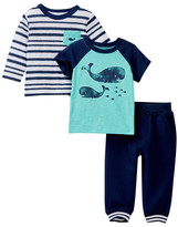 Little Me Whales 3-Piece Play Set (Baby Boys)