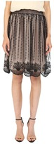 RED Valentino Fit & Flare Tulle Skirt