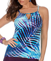 Miraclesuit Palm Reader High Neck Peephole Tankini