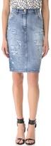 Pierre balmain High Waist Pencil Skirt
