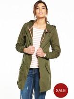 Very Lightweight Parka Coat - Khaki