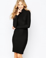 Vero Moda High Neck Body-Conscious Dress
