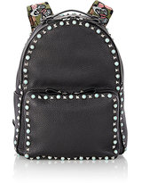 Valentino Women's Rockstud Medium Backpack-BLACK