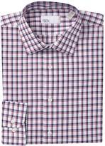 Nordstrom Rack Trim Fit Micro Mini Plaid Dress Shirt