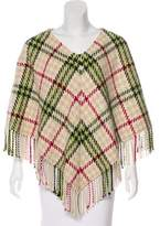 Burberry Cashmere & Wool-Blend Poncho