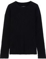 J Brand Tiffany Ribbed Cashmere Sweater