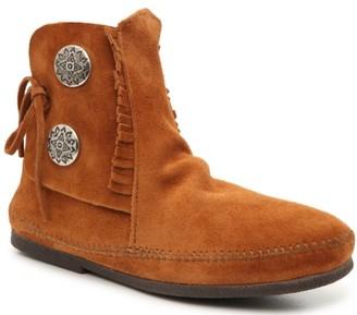 Minnetonka Two Button Boot