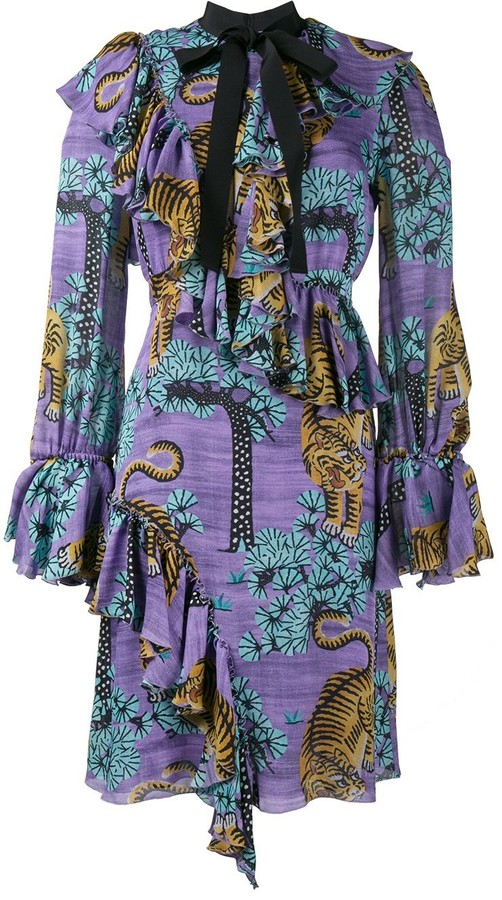 fe72a1f64 Tiger Print Dress - ShopStyle