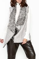 Paper Crane Furry Vest