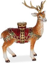 Fitz & Floyd Renaissance Holiday Standing Deer Candleholder