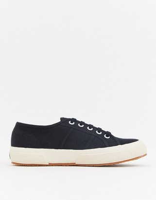Superga 2750 Classic Canvas Sneakers In Black
