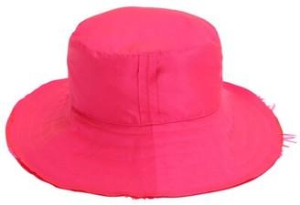 Ruslan Baginskiy Crystal Embellished Satin Panama Hat