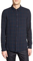 Velvet by Graham & Spencer Men's 'Nilson' Trim Fit Long Sleeve Plaid Sport Shirt