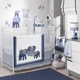 Lambs & Ivy Elephant Crib Bedding Collection
