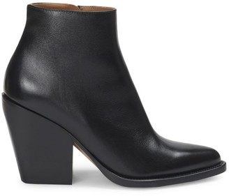 Chloé Rylee Leather Ankle Boots