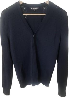 Michael Kors Blue Synthetic Knitwear & Sweatshirts