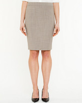 Le Château Stretch Wool Blend Pencil Skirt