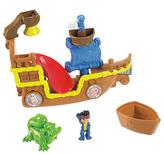 Fisher-Price Jake & The Never Land Pirates Splashing Bucky Bath Toy