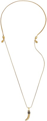 Alex and Ani Horn Pendant Expandable Necklace