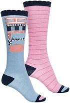 Stride Rite Knee-High Socks - 2-Pack, Over the Calf (For Girls)