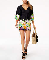 Trina Turk Bouquet Tunic Cover-Up Women's Swimsuit