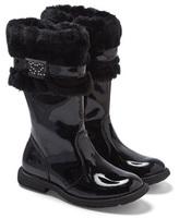 Step2wo Black Patent Tall Boots